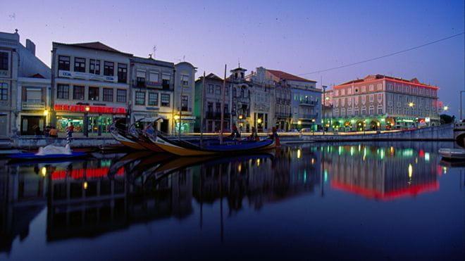 Aveiro une belle ville du centre du Portugal