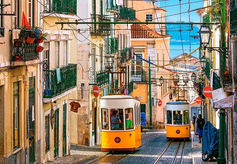 Vivre a Lisbonne le tramway symbole lisboète