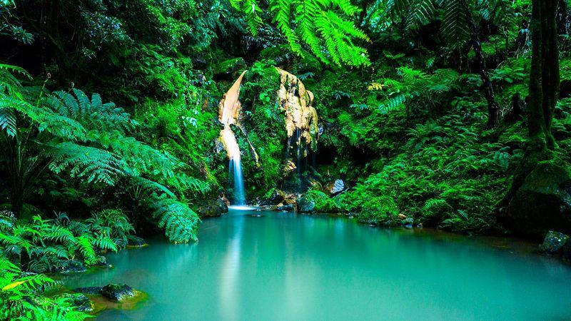 Vivre aux Açores Portugal Cascade